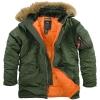 Фирменные куртки Аляска Alpha Industries Inc.  от официального дилера в Украине